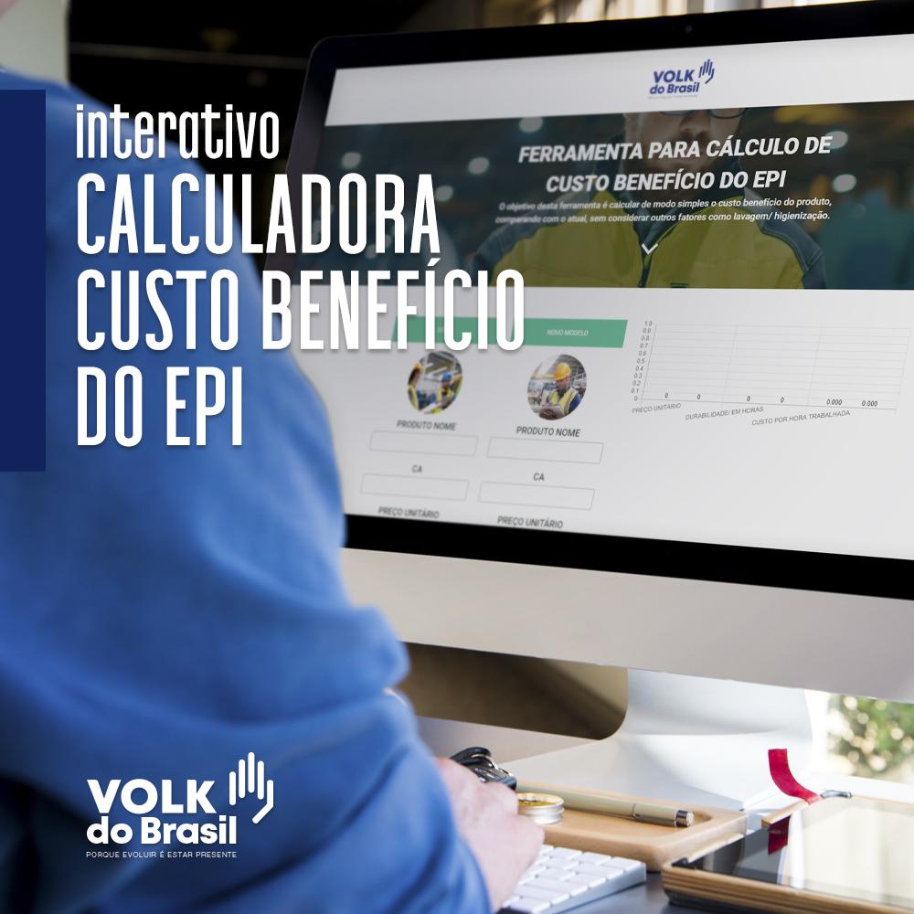 Calculadora Interativa de Custo Benefício do EPI